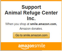 Support Animal Refuge Center with Amazon Smile!